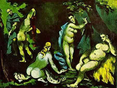 paul cezanne antonius Schrecken und Lust | Die Versuchung des heiligen Antonius
