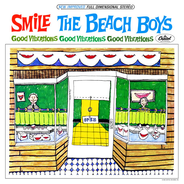 beach boys smile cover The BEACH BOYS   SMiLE Sessions