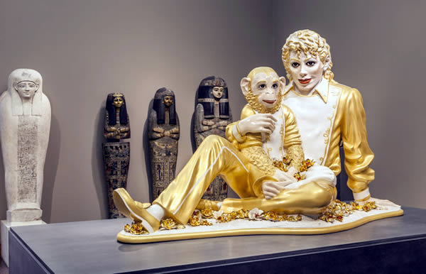 Jeff Koons The Sculptor 2 Ausstellungsansicht  Liebieghaus Skulpturensammlung Frankfurt Foto Markus Tretter JEFF KOONS   Double Trouble