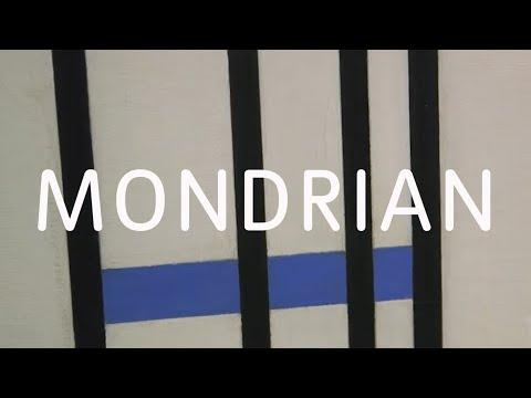LyteCache Piet MONDRIAN Die Linie
